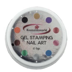 Gel Stamping Nail Art